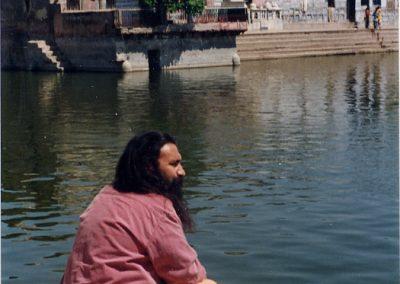 Prabhuji in Radha Kunda