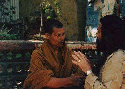 Prabhuji with a Buddhist Monk