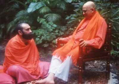 Prabhuji with Swami Jyotirmayananda