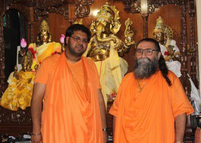 Prabuji with Swami Bhakti Amrit lila