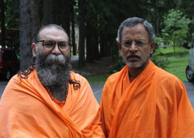 Prabhuji with Swami