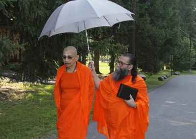 Prabhuji with Swami Viditatmananda-8