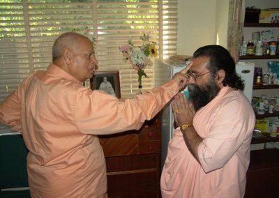 Prabhuji with Swami Swahananda