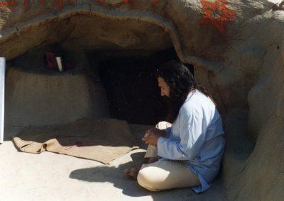 Prabhuji at Mastarama Babaji's cave