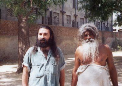 With a Sadhu in Vrindavan